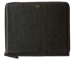 "Fossil Sydney Zip Tech iPad cover 9.7"" leather"